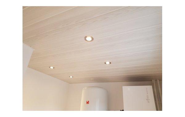 Plafond PVC avec spot Lieudieu